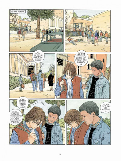 Page 3 Tendre banlieue tome 2 - le grand frère (ned)
