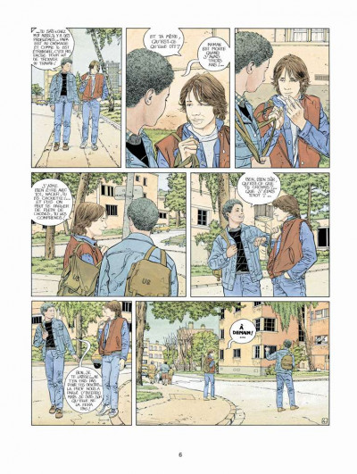 Page 4 Tendre banlieue tome 2 - le grand frère (ned)