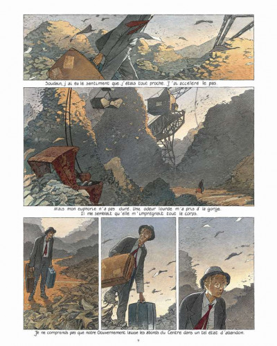 Page 4 Les cités obscures - intégrale - La frontière invisible