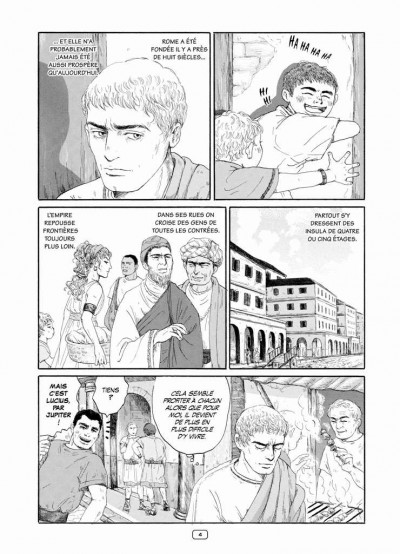 Page 4 Thermae romae tome 1