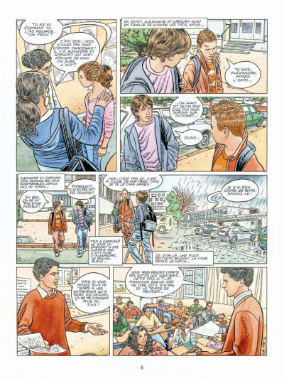 Page 3 Tendre banlieue tome 19 - l'absence