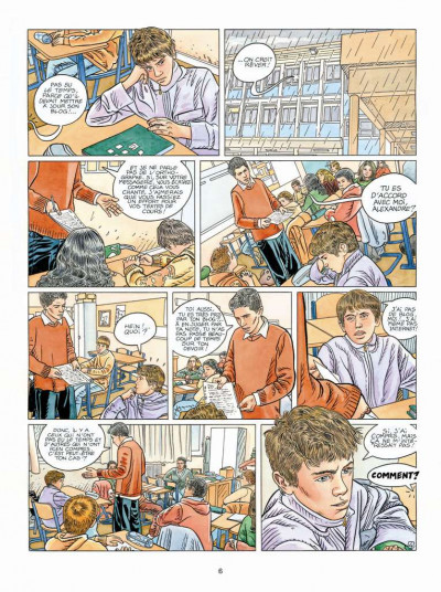 Page 4 Tendre banlieue tome 19 - l'absence