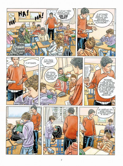 Page 5 Tendre banlieue tome 19 - l'absence