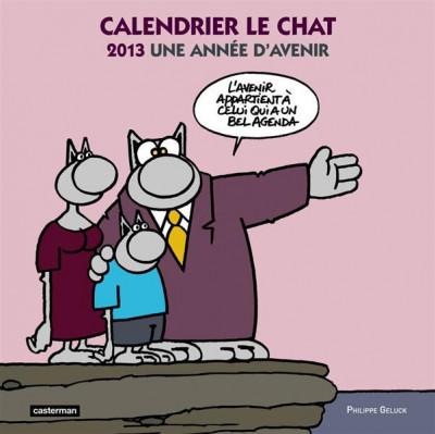 image de calendrier le chat 2013