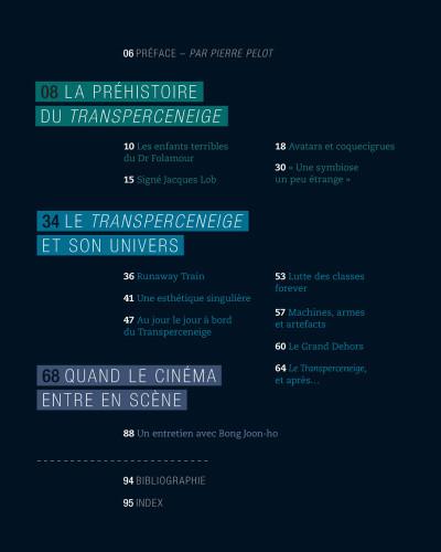 Page 1 Histoires du transperceneige