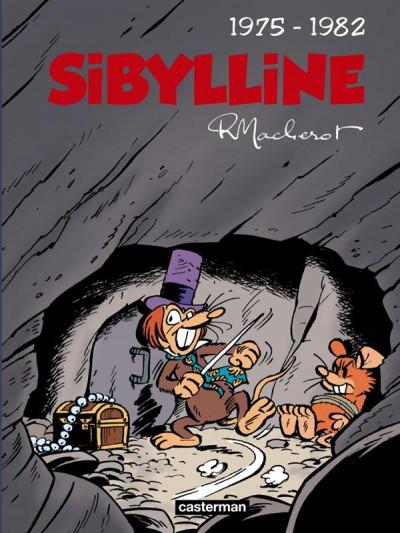 Couverture Sibylline - intégrale tome 3 - 1975-1982