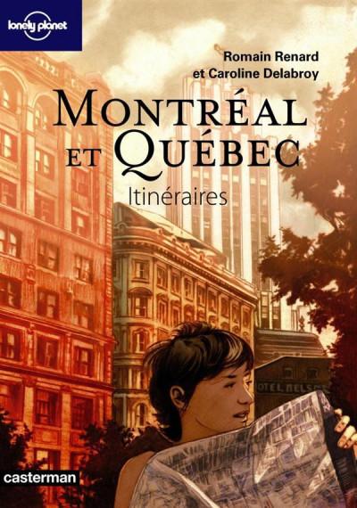 Couverture Montréal et Québec itinéraires