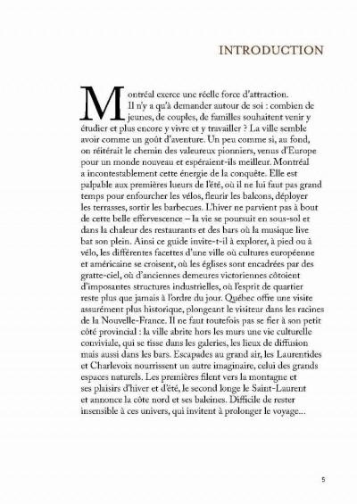 Page 2 Montréal et Québec itinéraires
