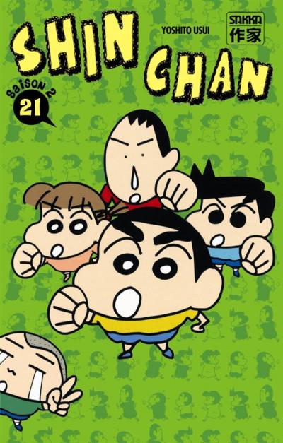 Couverture Shin Chan, saison 2 tome 21