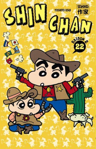 Couverture Shin chan, saison 2 tome 22