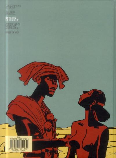 Dos Scorpions du désert tome 3 (nouvelle édition 2014)