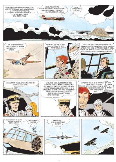 Page 1 Scorpions du désert tome 3 (nouvelle édition 2014)