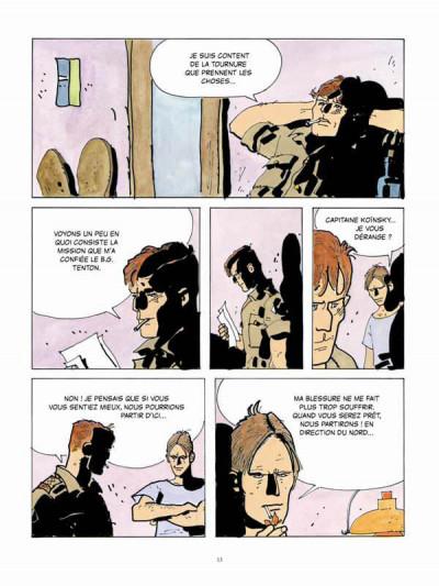 Page 1 Scorpions du désert tome 4 (nouvelle édition 2014)