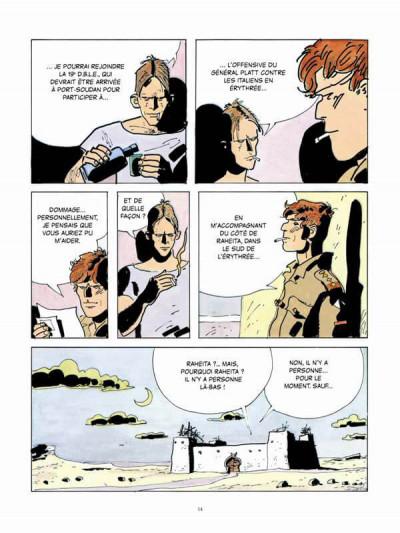 Page 2 Scorpions du désert tome 4 (nouvelle édition 2014)