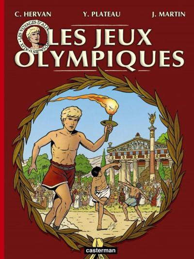 Couverture Les jeux olympiques
