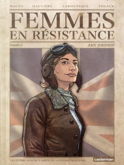 Couverture Femmes en résistance tome 1 - Amy Johnson