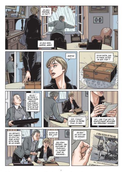 Page 3 Femmes en résistance tome 1 - Amy Johnson
