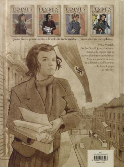 Dos Femmes en résistance tome 2 - Sophie Scholl