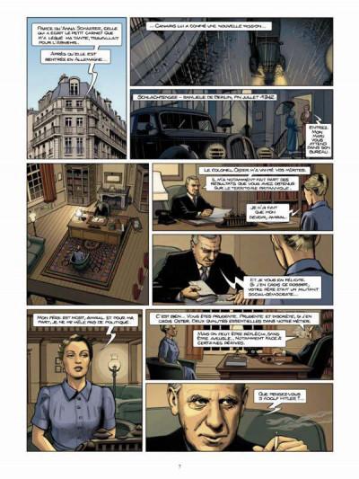 Page 5 Femmes en résistance tome 2 - Sophie Scholl