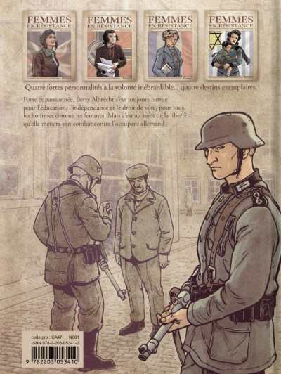 Dos Femmes en résistance tome 3 - Berty Albrecht
