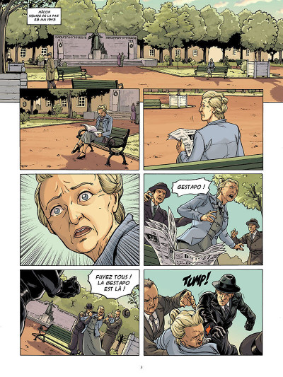 Page 4 Femmes en résistance tome 3 - Berty Albrecht