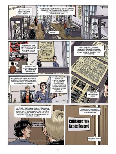 Page 8 Femmes en résistance tome 3 - Berty Albrecht