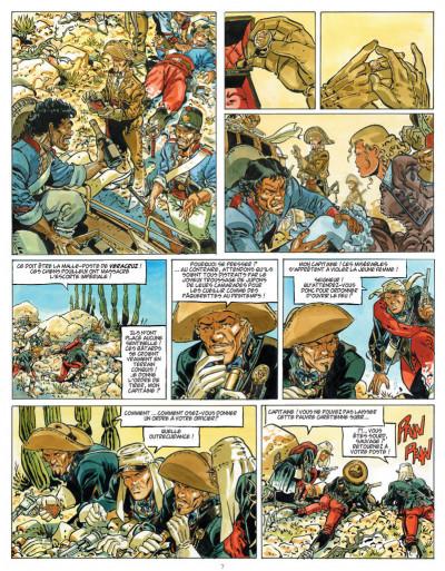 Page 5 Sauvage tome 1 - les damnés d'Oaxaca