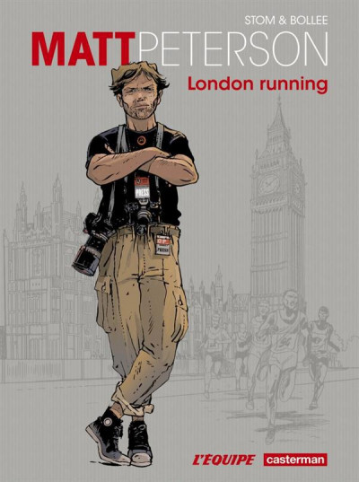 Couverture matt peterson tome 1 - London Running