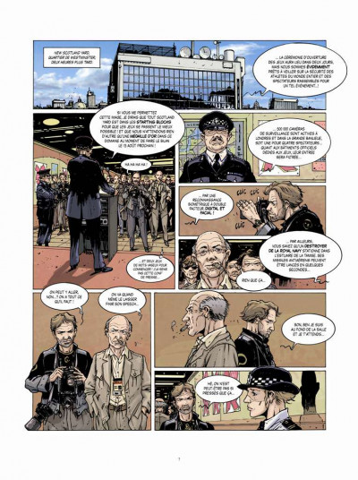 Page 5 matt peterson tome 1 - London Running
