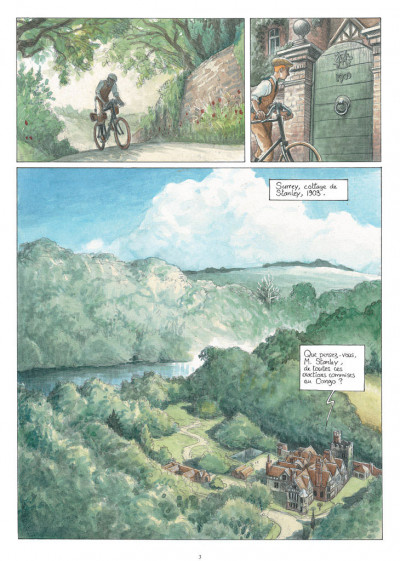 Page 1 Africa dreams tome 3 - ce bon Monsieur Stanley