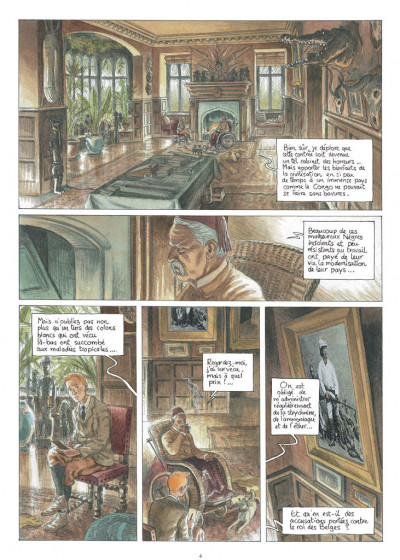 Page 2 Africa dreams tome 3 - ce bon Monsieur Stanley