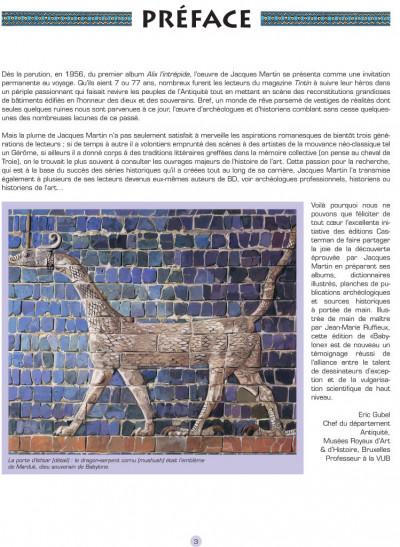 Page 1 les voyages d'Alix ; Babylone, Mésopotamie