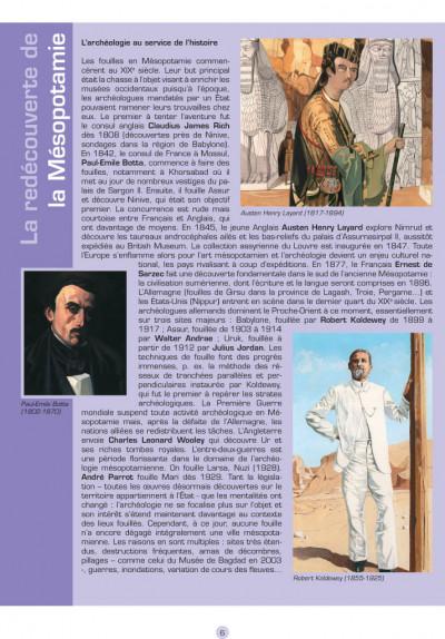 Page 4 les voyages d'Alix ; Babylone, Mésopotamie