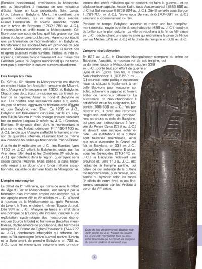 Page 5 les voyages d'Alix ; Babylone, Mésopotamie
