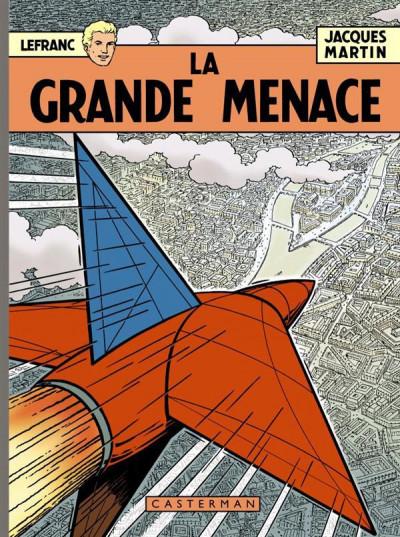 image de Lefranc tome 1 - la grande menace - Les 60 ans de Lefranc