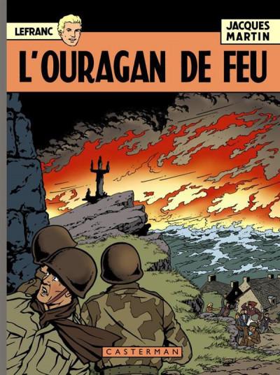 image de Lefranc tome 2 - l'ouragan de feu - Les 60 ans de Lefranc