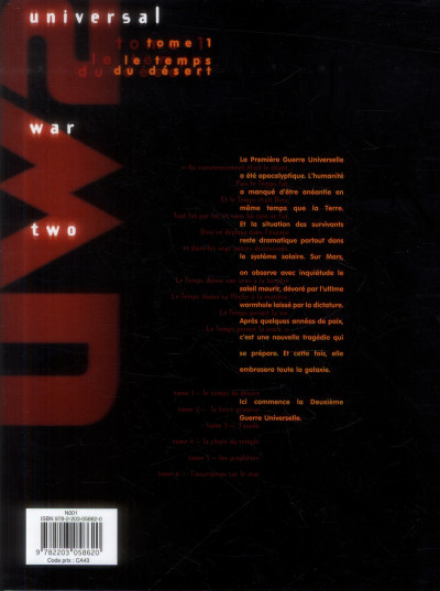 Dos Universal war two tome 1