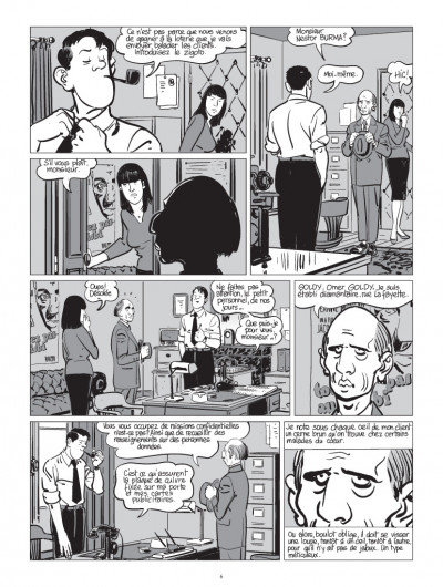 Page 2 Nestor burma tome 8 - boulevard... ossements