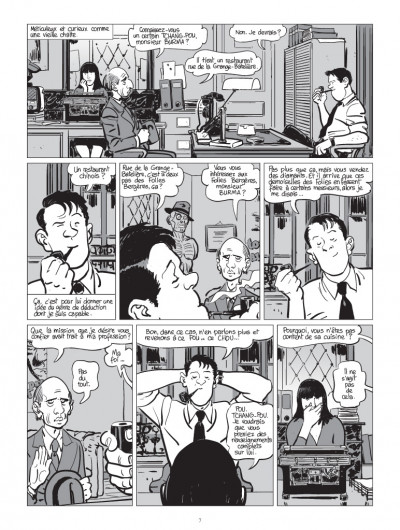 Page 3 Nestor burma tome 8 - boulevard... ossements