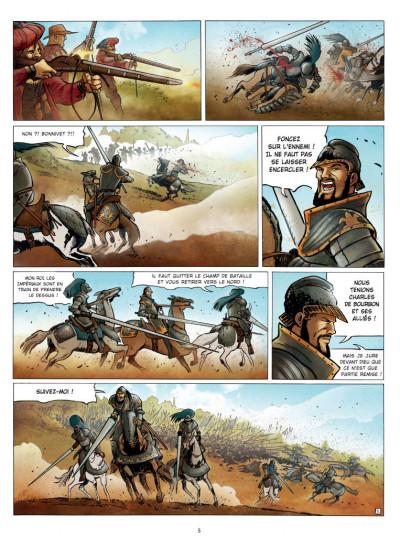 Page 3 Histoires de France tome 1 - françois 1er et le connétable de Bourbon