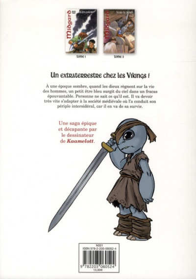 Dos Midgard tome 2 - vers le nord