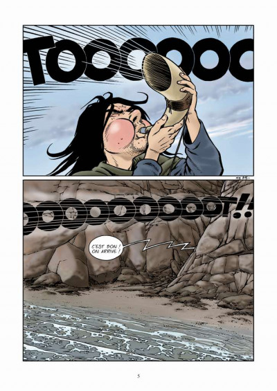 Page 1 Midgard tome 2 - vers le nord