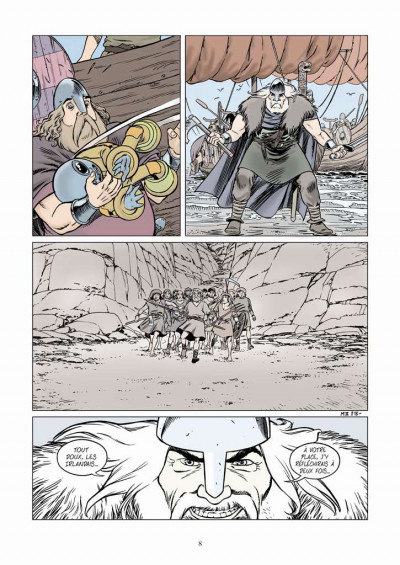 Page 4 Midgard tome 2 - vers le nord