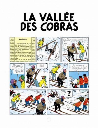 Page 1 Jo, Zette et Jocko tome 5 - La Vallée des cobras