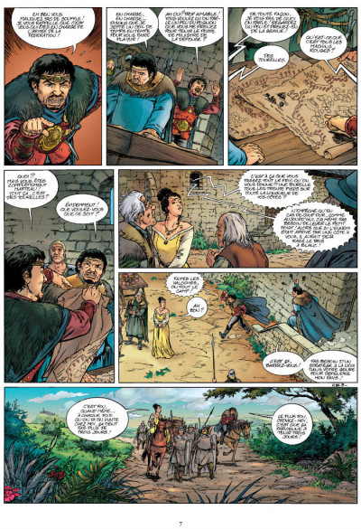 Page 5 Kaamelott tome 7 - contre-attaque en Carmélide