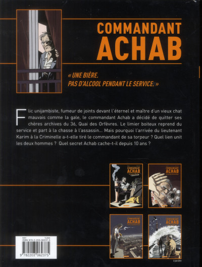 Dos commandant Achab tome 1 - né pour mourir