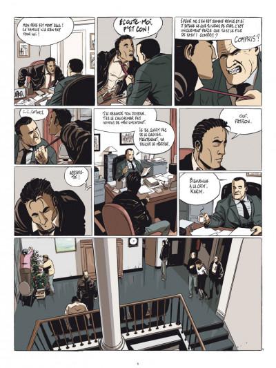 Page 4 commandant Achab tome 1 - né pour mourir