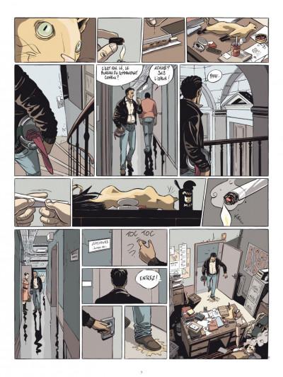 Page 5 commandant Achab tome 1 - né pour mourir