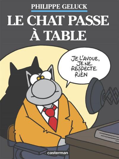 Couverture Le chat tome 19 - le chat passe à table (coffret)