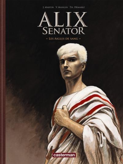 Couverture Alix senator tome 1 - édition spéciale